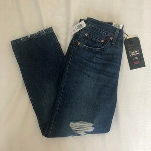 Levi's 501 Crop Cropped, straight-leg jeans